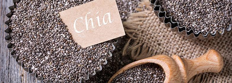 Chia-Samen roh