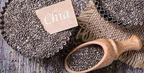Superfood Chia-Samen