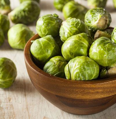 Rosenkohl – blähende Lebensmittel sollten in der Colitis ulcerosa-Ernährung vermieden werden