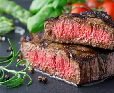 Rindersteak medium – rotes Fleisch als Darmkrebs-Risikofaktor
